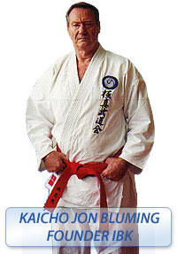 Kaicho Jon Bluming founder IBK